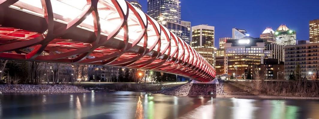 Calgary City in Alberta, Canada