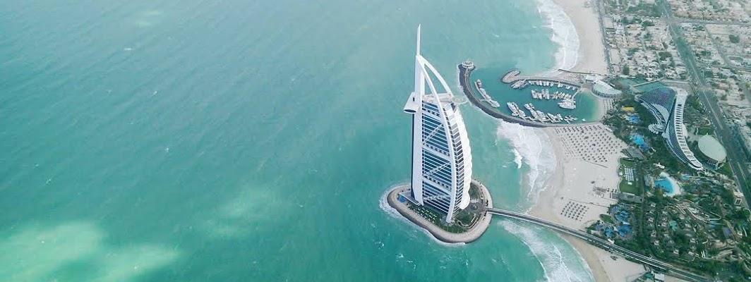 Dubai City in the United Arab Emirates