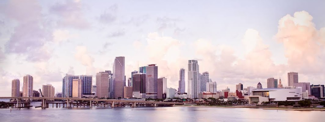Miami City in Florida