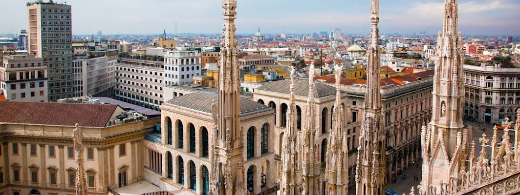 Milan City in Italy