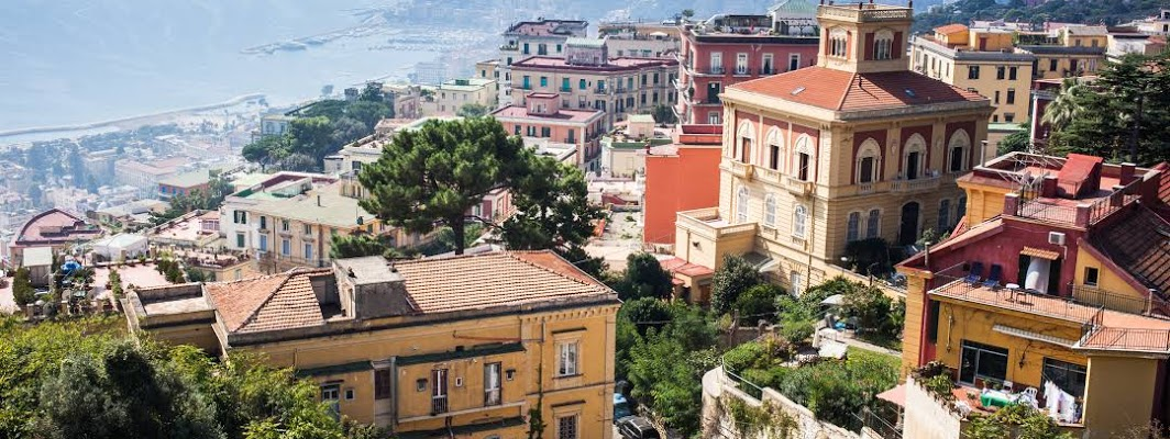 Naples City in Italy