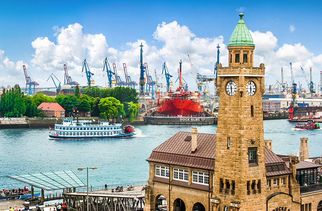 The Port of Hamburg: The Gateway to Germany