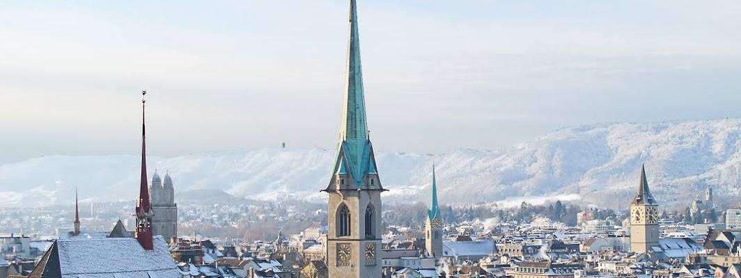 Zürich City in Switzerland
