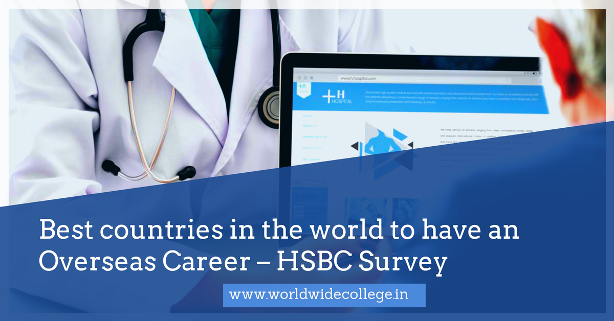 Best countries in the world to have an Overseas Career – HSBC Survey